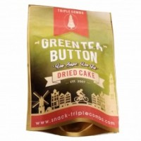 Green Tea Button, Diet Snack