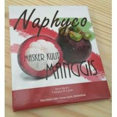 Masker Kulit Manggis Naphyco (isi 2/bungkus)