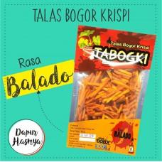 TABOGKI Talas Bogor Krispi Balado 100gr
