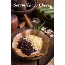 Serabi Topping Choco Cheese de Keraton per 3 pcs