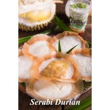 Serabi Topping Duren de Keraton per 3 pcs