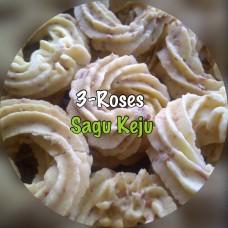 Sagu Keju 3-Roses 500 gr
