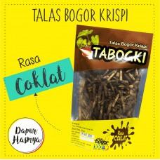 TABOGKI Talas Bogor Krispi Cokelat 100gr