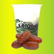 Cendol De Keraton Topping Dates 400 ml per cup