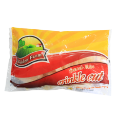 Golden Farm Crinkle Cut (Kentang Beku) 500gr