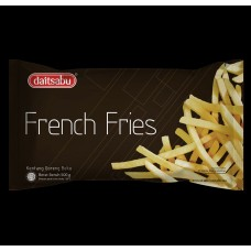 Daitsabu French Fries 500 gr Straight cut