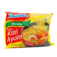 Indomie Rebus Rasa Kari Ayam