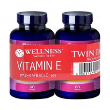 Wellness Natural Vitamin E 400IU Water Soluble 60 Tablets (Buy 1 Get 1)