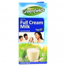 Greenfields Susu UHT Full Cream 1000ml