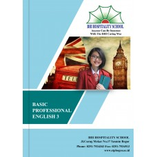 Buku Cetak BHI Basic Professional English 3