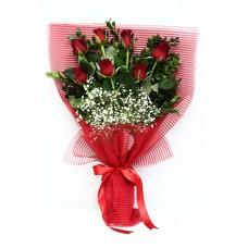 Buket Bunga Mawar Merah BF-02