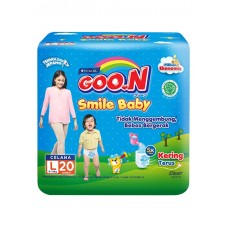 Goo.N Smile Baby Pants 20'S Large