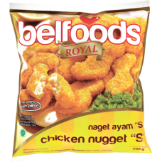 Belfoods Royal Chicken Nugget 500gr