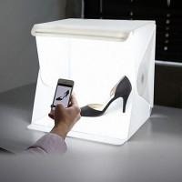 Portable Folding Lightbox Photography Studio Softbox LED Light Soft Box for DSLR Camera Photo Background