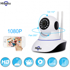 Hiseeu 1080P IP Camera Wireless Home Security IP Camera Surveillance Camera Wifi Night Vision CCTV Camera Baby Monitor