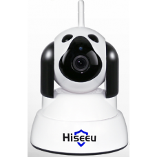 Hiseeu Home Security IP Camera Wi-Fi Wireless Smart Dog Surveillance 720P Night Vision CCTV Indoor Baby Monitor FH4