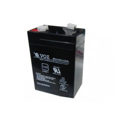 Battery Accu Sealed Acid Voz 6V 4,5 Ah