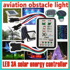 3A Solar Charge Controller lampu