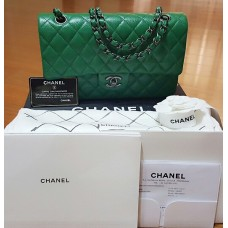 BNIB Chanel Green Bag