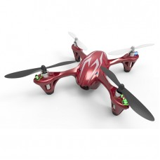 Hubsan FPV X4 Mini Drone Quadcopter with Camera - H107C - Red
