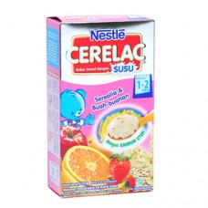 Nestle Infant Multigrain Porridge Cerelac Fruits 120gr