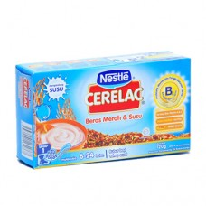 Nestle Cerelac Baby Porridge Red Rice Milk Plus 120gr