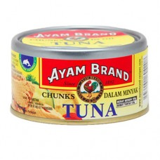 Ayam Brand Tuna Chunk In Oil 185 gram