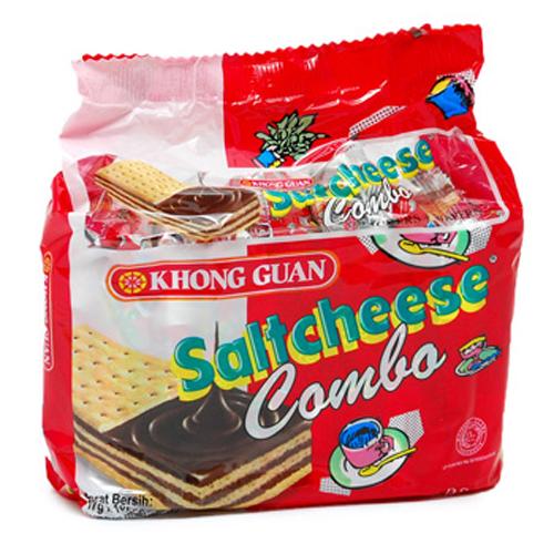 Biskuitkemasan:  Biskuit Khong Guan Salt Cheese Combo 17 Grx10