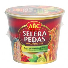 Abc Mie President Goreng Pedas Limau 80g Per pak ( 5 pieces )