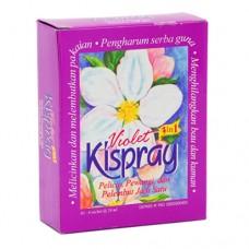 Lubricant Clothing Kispray Violet 24ml X 4
