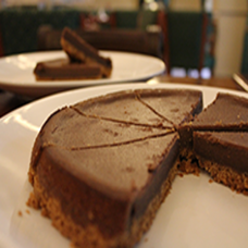 Choco Cheese Cake Large