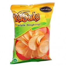 Chiki Kusuka Chicken Black Pepper 60 gram