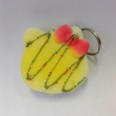 Squishy Keychains Cake Hello Kitty Choco Top