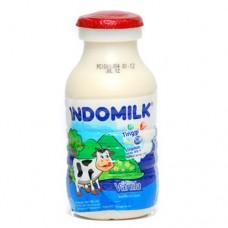 Indomilk Milk Vanilla 190ml Bottle Per pack ( 5 pieces )