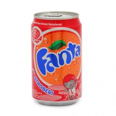 Minuman Fanta Strawberry Kaleng 330ml