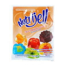 Nutrijel Coklat 15 gr Per pack ( 12 pieces )