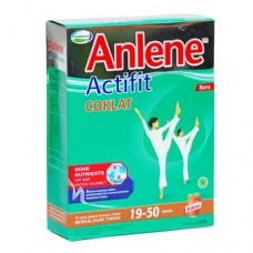 Susu Anlene Aktifit (19-50th) Coklat Reduced Fat High Calcium 600 gr