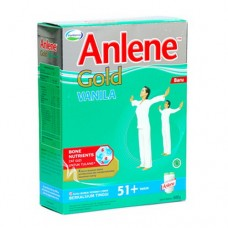 Anlene Milk Gold Vanilla 51+ th 250gr (Milk Powder)