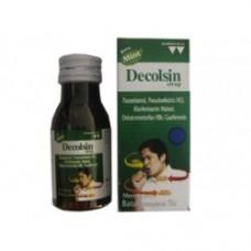 Decolsin Cough Syrup Flavor Mint 60 ml