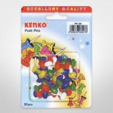 Kenko Push Pins - Paku Untuk Steorofoam