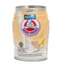 Bear Brand Milk Gold White Malt (malt White)140ml