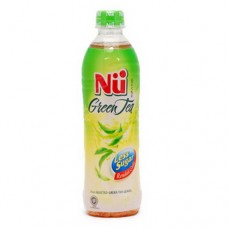 Minuman Nu Green Tea Less Sugar 500 ml