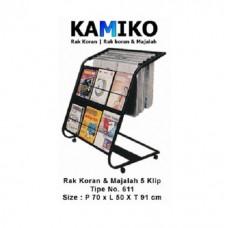 Kamiko Rak Koran dan Majalah No. 611