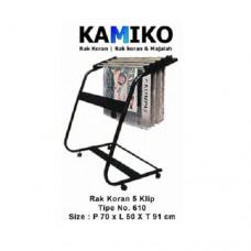Kamiko Rak Koran 5 Klip Tipe 610