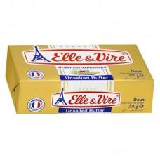 Butter Elle & Vire Unsalted 200 gr