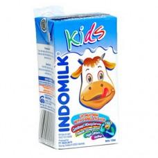Indomilk Milk Kids Plain 125 ml Per pak ( 5 pieces )