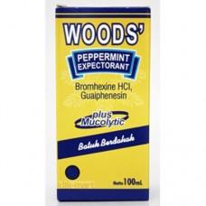 Cough Medicine 60ml Woods Mucolytic