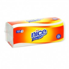 Nice Facial Tissue Soft Pack Yellow 250's