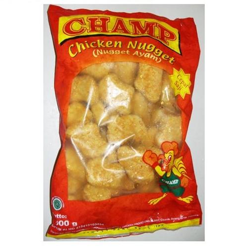 Dapur Kreasiku Nugget Tahu: Champ Chicken Nugget 500 G