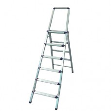 Aluminum Step Ladder with Handle 6steps